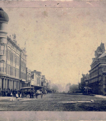 100 Block of N. Broad Street, 1889