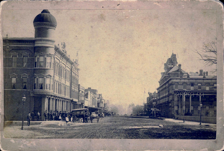 100 Block of N. Broad Street, 1889