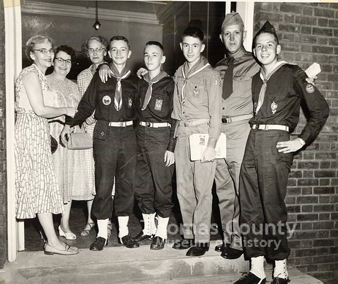 Boy Scouts Troop 306 First Methodist Church c.1950