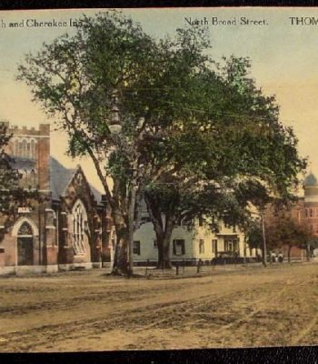 200 Block of N. Broad Street, c.1895