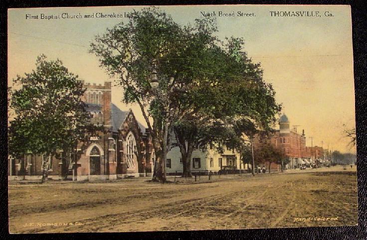 200 Block of N. Broad Street, c.1895
