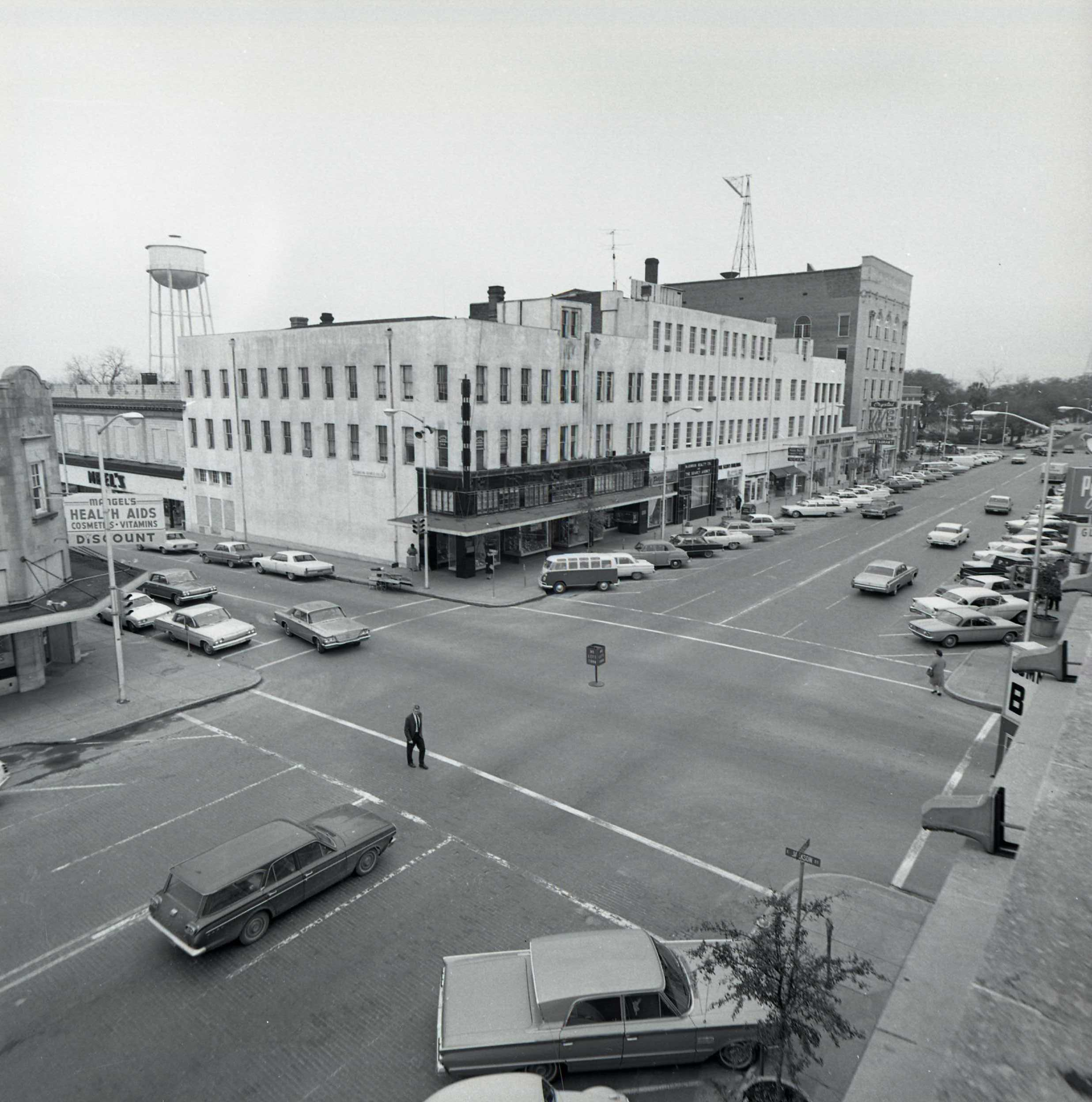 100 Block of South Broad Street Looking North, February 1966