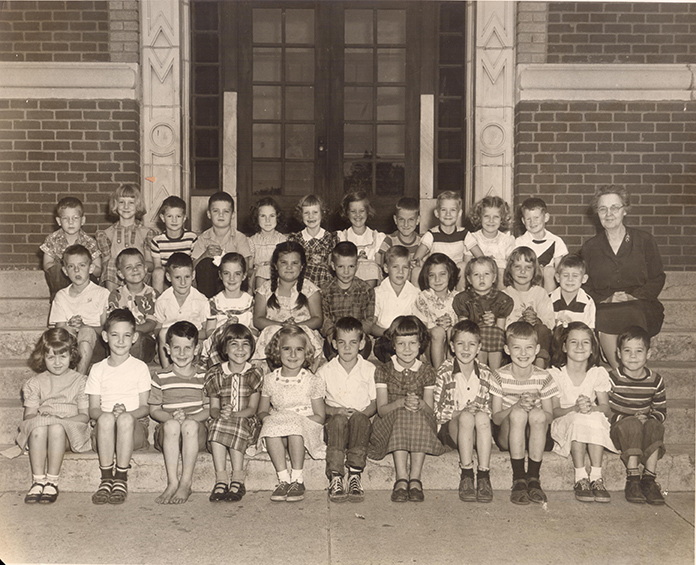 Eastside School 1950 Wertz Collection