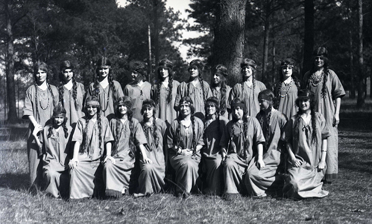 Girl Scouts Girl Scout Camp 1924