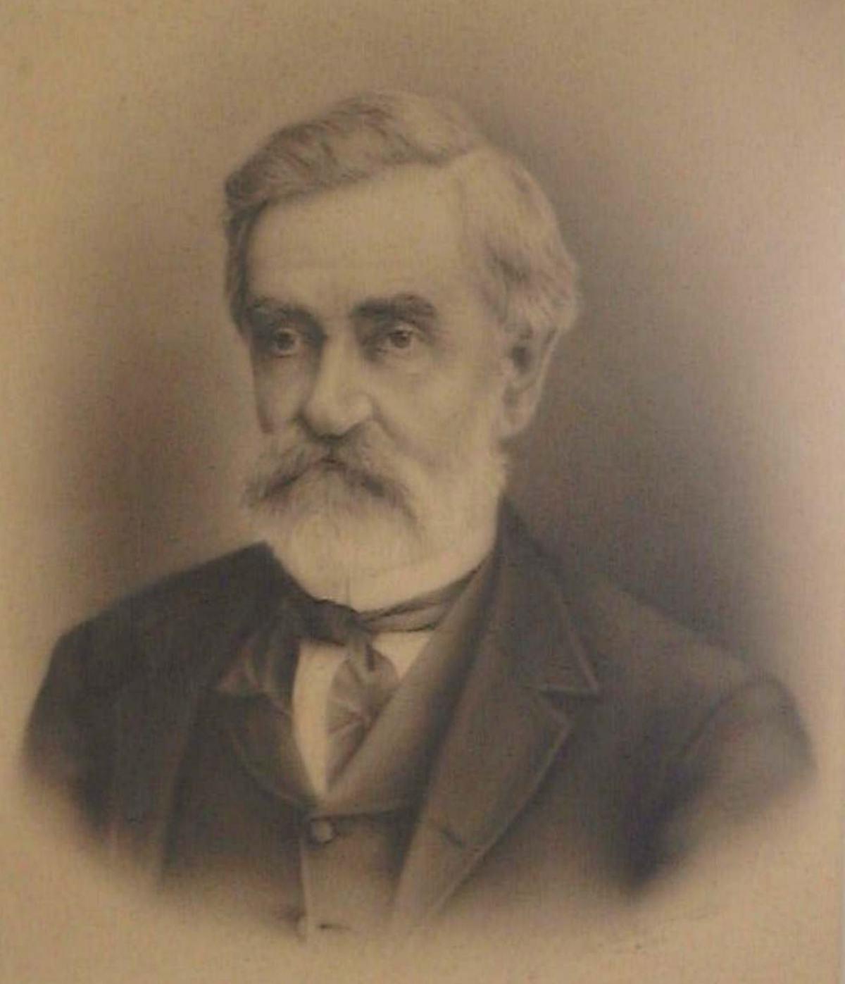 Judge Augustine Hansell – c.1870