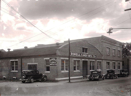 Powell Candy Co. Factory 203 Oak St. 1937
