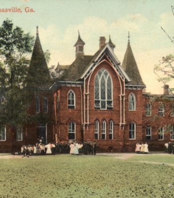 Thomasville High School in the old Fletcherville School Building, c.1901