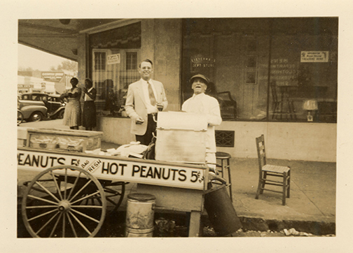 Zalumas, Andrew Peanut Salesman – Corner of Broad and Jackson
