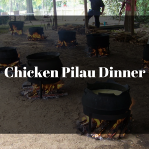 Donations: Annual Pilau Dinner