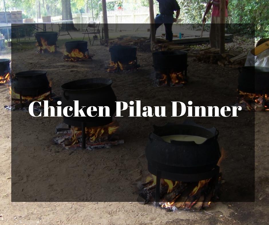 Chicken Pilau Dinner