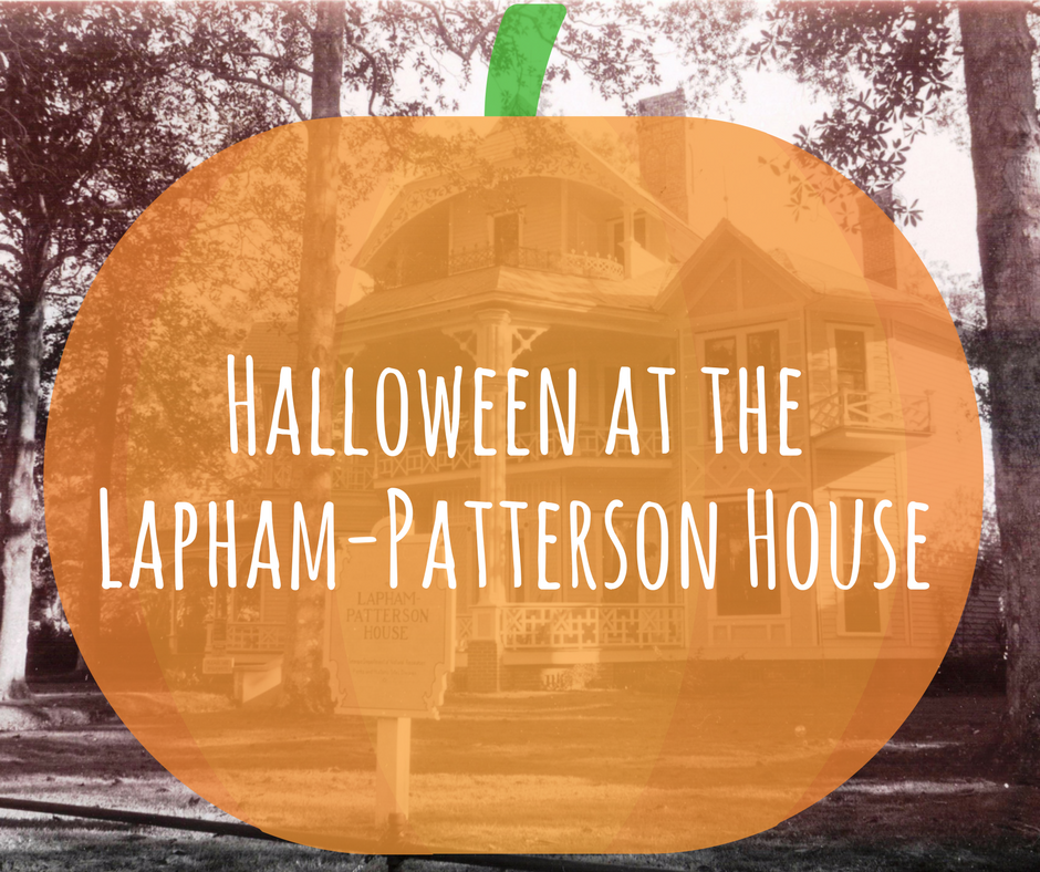 Halloween at the Lapham-Patterson House