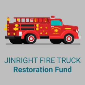 Jinright Fire Truck Restoration Fund