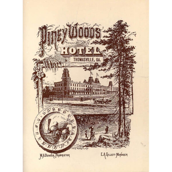 Piney Woods Hotel Booklet