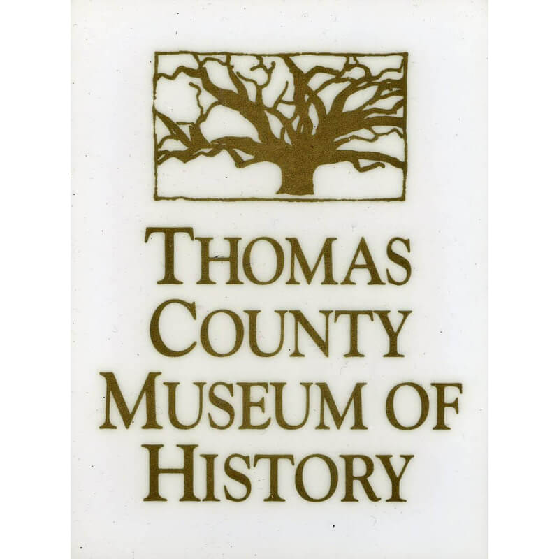 Thomas County Museum of History Window Sticker