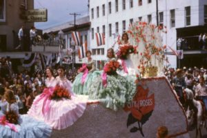 1953 City of Roses Float, Rose Parade