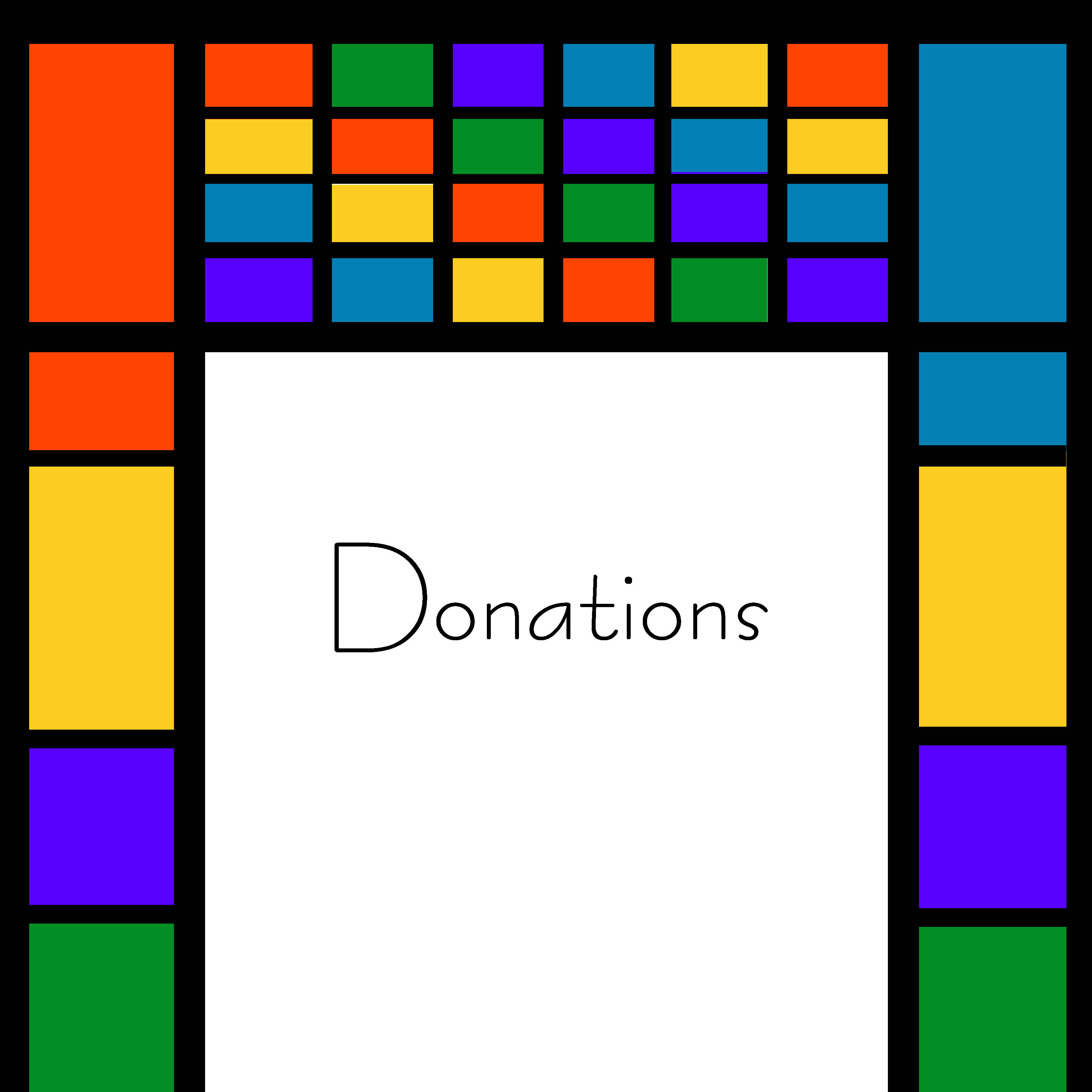 donations website graphic
