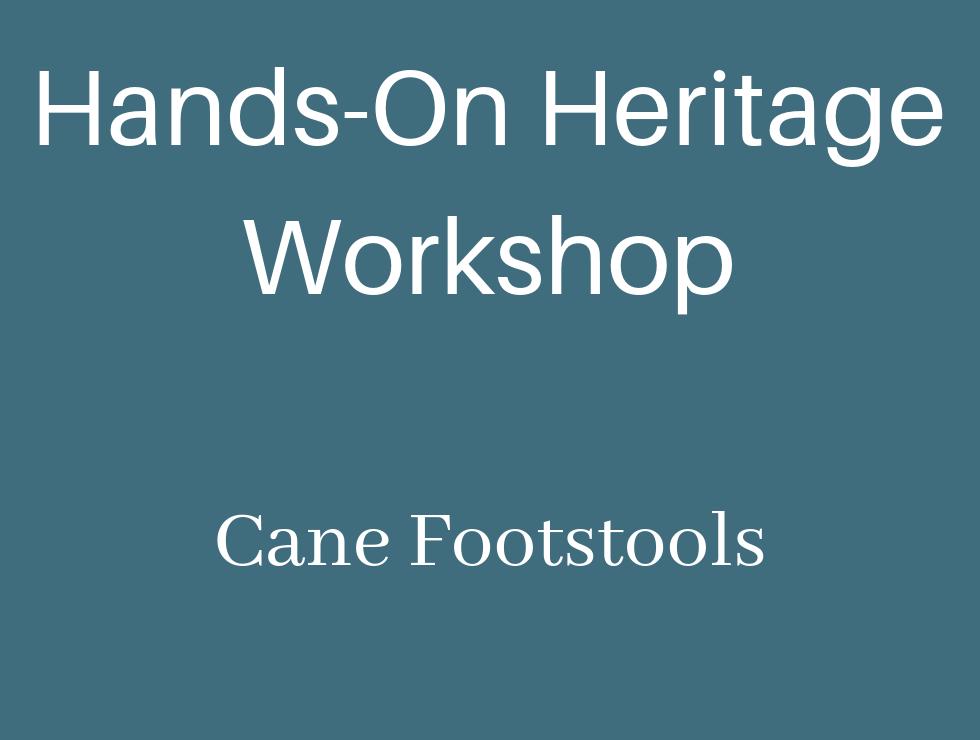 Hands-On Heritage Workshop