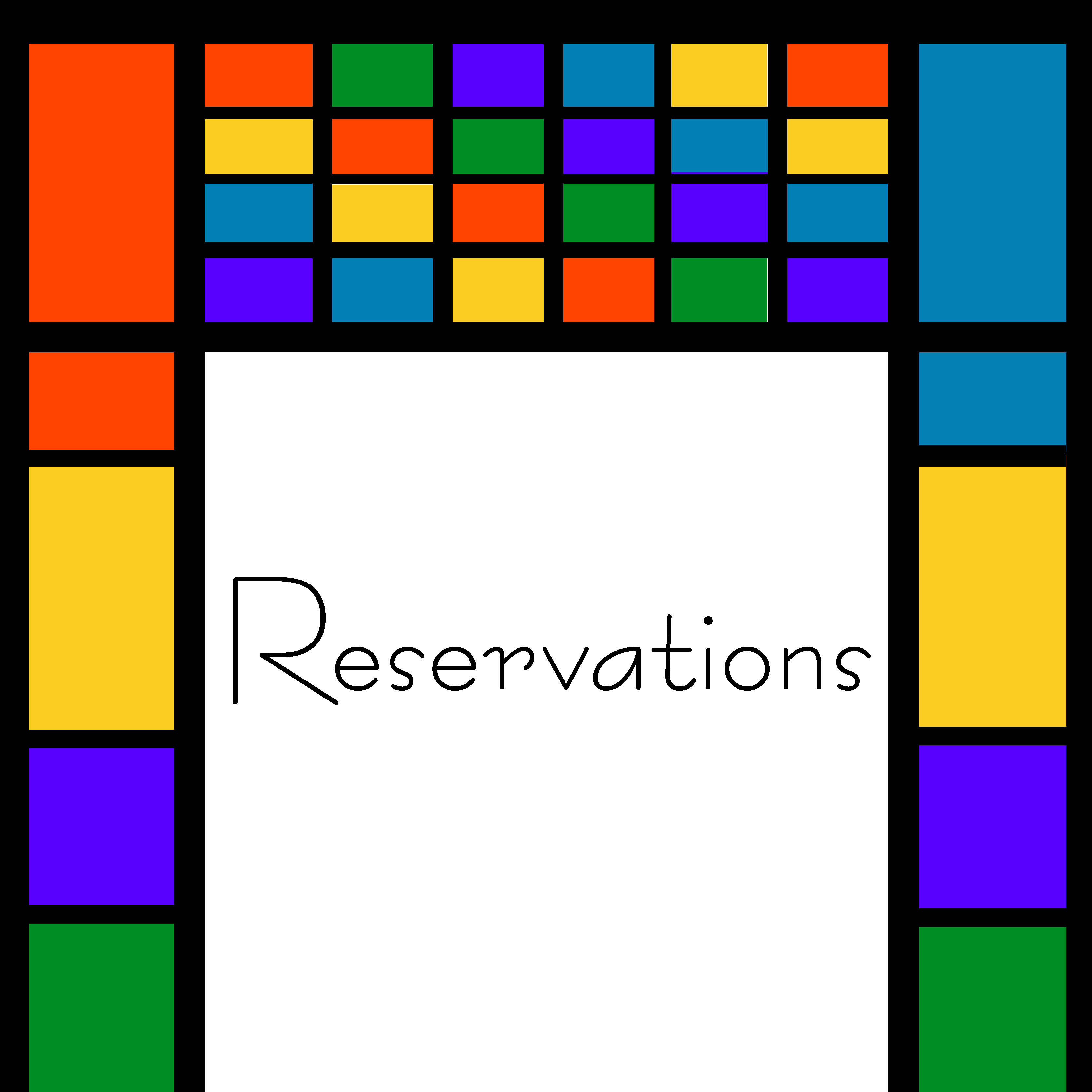 reservations website graphic