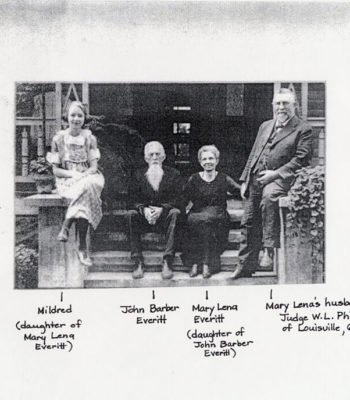 Everitt Family of Ashland Plantation, c.1915