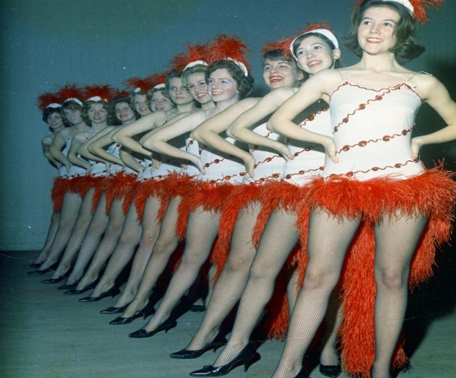 Junior Service League - Follies Rehearsal - 01-1964 02