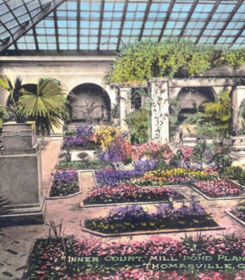 The Atrium at Millpond Plantation c.1915