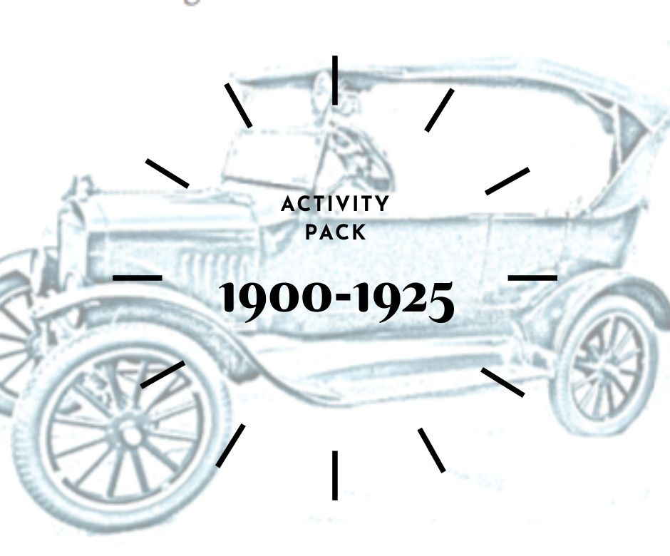 activity pack 1900-1925