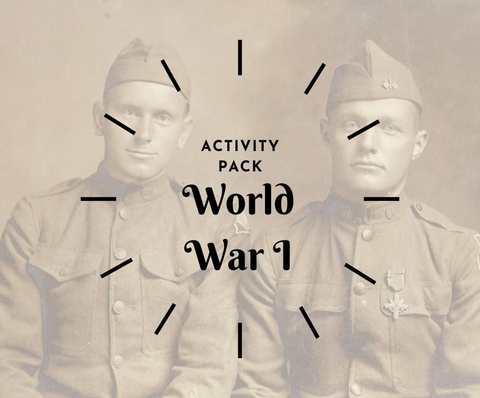 activity pack wwI