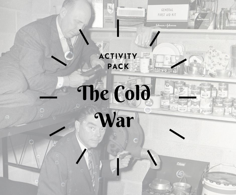 cold war activity pack