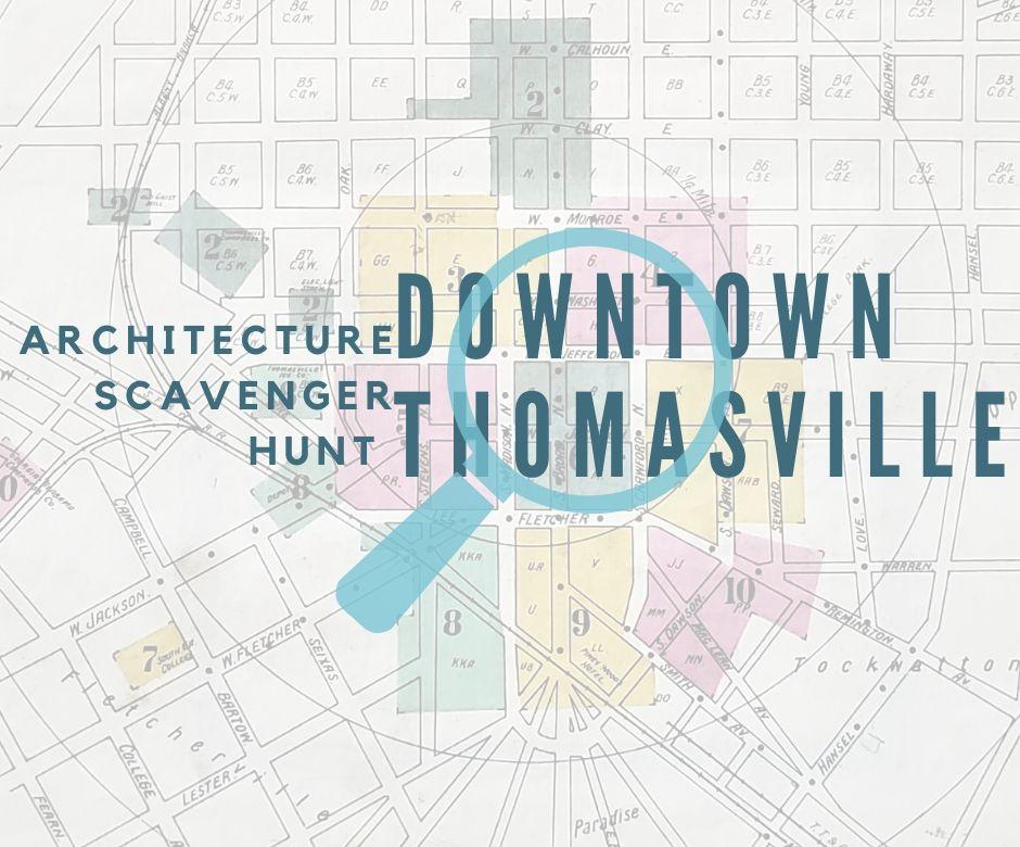 architecture scavenger hunt downtown tville
