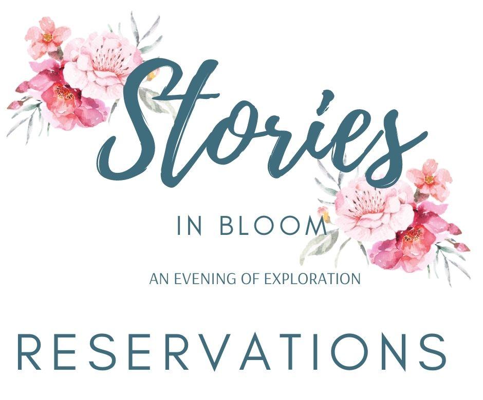 Stories in Bloom website logo